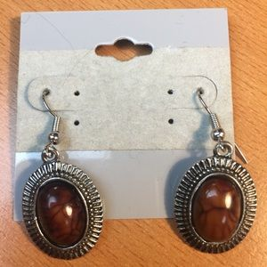Jewelry - New Brown and Silver Earrings